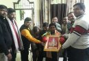 सिल्वर मैडल विजेता चिन्मय गोयल को अग्रवाल समिति बल्लभगढ़ ने किया सम्मानित